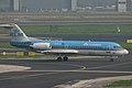 PH-KZD Fokker Fk.70 KLM Cityhopper (8610889872).jpg