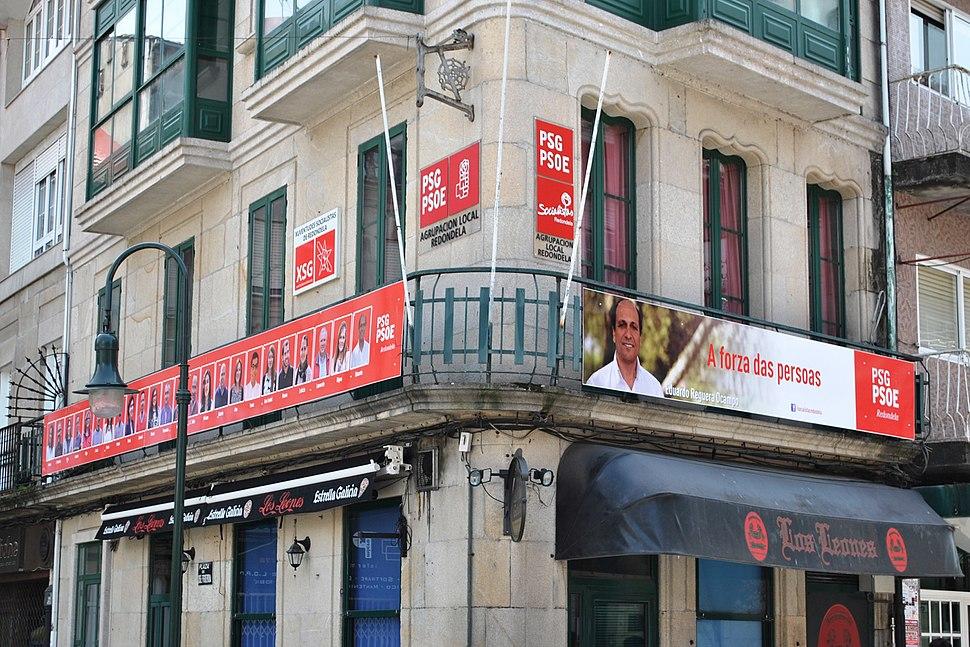 PSG PSOE Agrupación Local Redondela