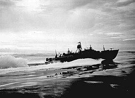 PT boat New Guinea 1943