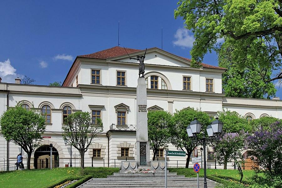 Habsburg Palace in Cieszyn