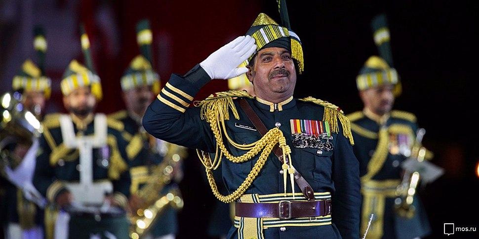 Pakistani Army band commander