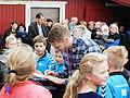 Pal Joensen gave autographs 2014.JPG