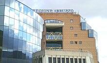 Palazzo Silone, sede della regione a L'Aquila.