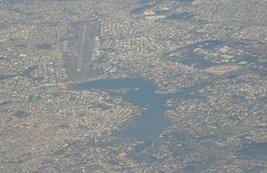 Pampulha (Belo Horizonte) - Aerial view of Pampulha