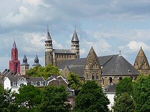 Binnenstad (Maastricht) - Image: Panorama Maastricht