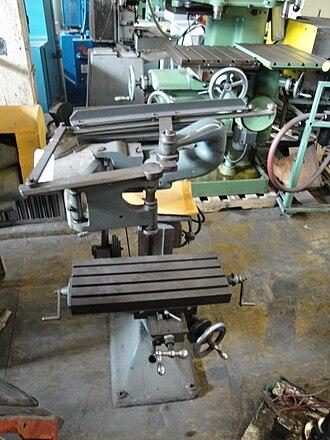 Pantograph - A small pantograph milling machine.
