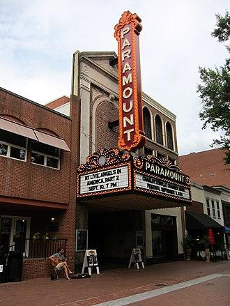 Paramount Theater (Charlottesville, Virginia) - Paramount Theater in 2017