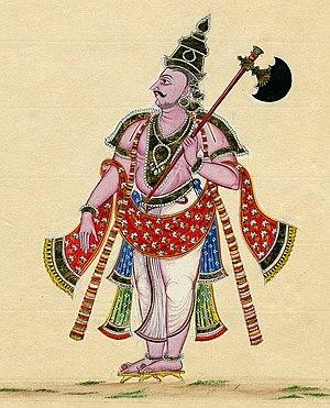 Parashu - Parasurama holding a parashu