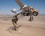 Paratroopers launch packable drone DVIDS615588.jpg