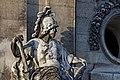 Paris - Les Invalides - Façade nord - Statue de Mars - PA00088714 - 003.jpg