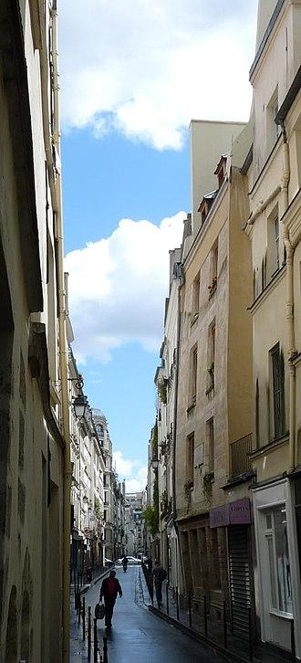 Rue de Montmorency - Rue de Montmorency in the historic quarter of Paris
