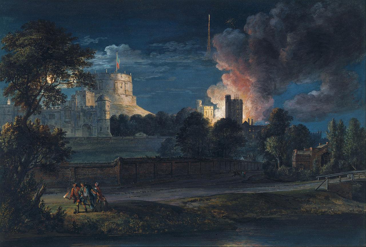 File Paul Sandby Windsor Castle From Datchet Lane On A