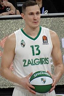 Paulius Jankūnas Lithuanian basketball player
