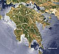 Peloponnese-Map satview BlueMarbleProject.jpg