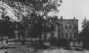 Edward Martineau Perine - Perine Mansion in Cahaba, Alabama.