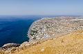 Perissa seen from ancient Thera - Santorini - Greece - 03.jpg