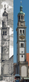 Perlachturm 1818 and 2014.png