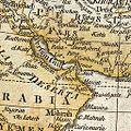 Persian Gulf in Samuel Dunn Wall Map of the World.jpg