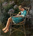 Peske Girl in the Garden Chair.jpg