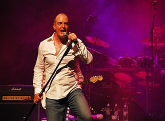 Peter Cox (musician) - Cox performing with Go West, 2008