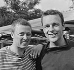 Peter Bots and Max Alwin 1964.jpg