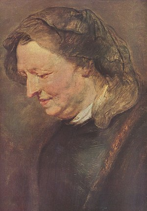 Maria Pypelinckx - Portrait of a woman formerly called Maria Pypelinckx, by Rubens