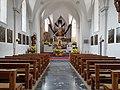 Pfarrkirche St. Martin (Aldrans) Innenraum 2.jpg