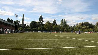 Park Hall (football ground) - Park Hall