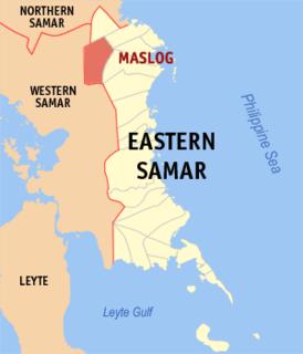 Maslog Municipality in Eastern Visayas, Philippines
