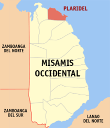 Ph locator misamis occidental plaridel.png