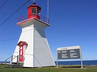Richibucto - Richibucto Head Lighthouse in 2007