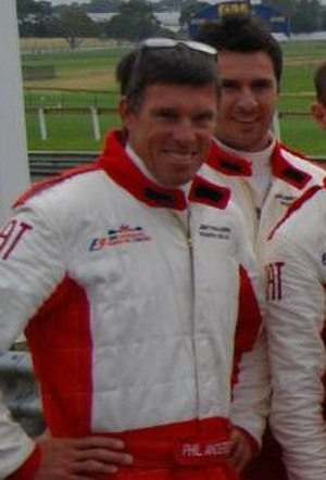 Phil Anderson (cyclist) - Anderson in 2008