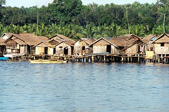 Autonomous Region in Muslim Mindanao - Coastal village in Basilan
