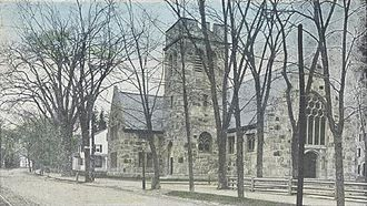 Exeter, New Hampshire - Phillips Church in 1911