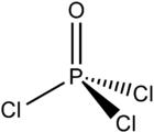 Struktur von Phosphoroxychlorid
