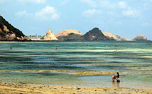 Kuta (Lombok) - Kuta beach