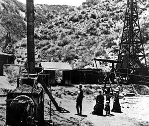 Pico Canyon Oilfield - Image: Pico Canyon Well No. 4