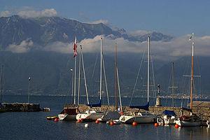 La Tour-de-Peilz - La Tour-de-Peilz harbor