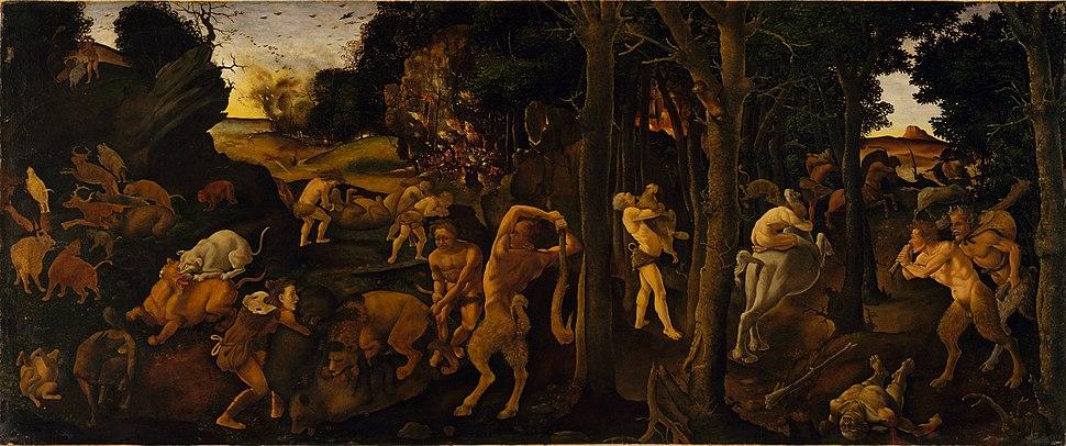 Piero di Cosimo - Scena di caccia