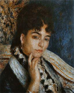 Pierre-Auguste Renoir - Madame Alphonse Daudet