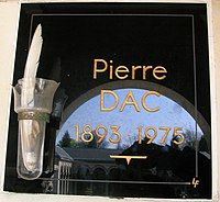 Pierre Dac - commemorative plaque.JPG