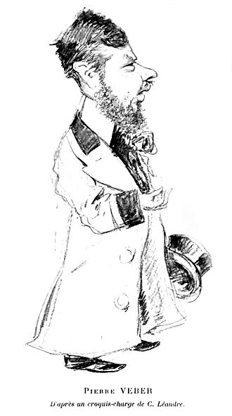 Pierre Veber - Pierre Veber caricatured by Charles Léandre