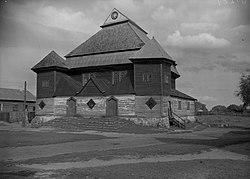 Pieskaŭskaja synagoga. Пескаўская сынагога (1901-39).jpg