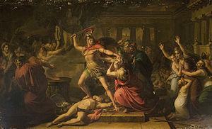 Pietro Benvenuti - Image: Pietro Benvenuti La morte di Priamo