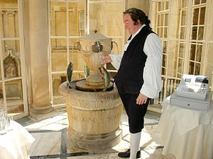 Grand Pump Room, Bath - Image: Pijalnia wody mineralnej Bath (Anglia)