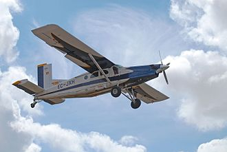 Pilatus PC-6 Porter - A PC-6 Turbo-Porter, B2-H4 PT6A-34 variant, used for skydiving in Spain