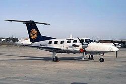 Piper PA-42-720 Cheyenne IIIA, Lufthansa JP5882686.jpg
