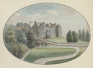 Pitchford Hall - Pitchford Hall c.1778