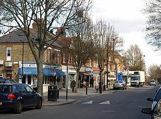 Pitshanger Human settlement in England
