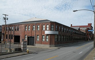 Pittsburgh Opera - Pittsburgh Opera Building located in the former Westinghouse Air Brake Factory at 2425 Liberty Avenue in the Strip District of Pittsburgh, Pennsylvania